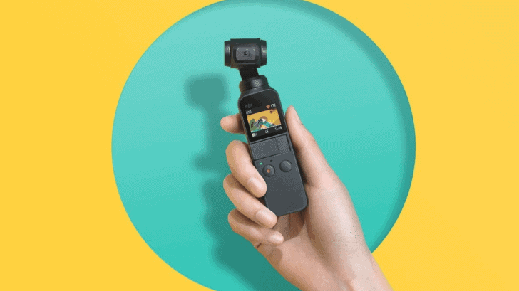 DJI announces Osmo Pocket, a tiny, 3-axis stabilized 4K camera for $349