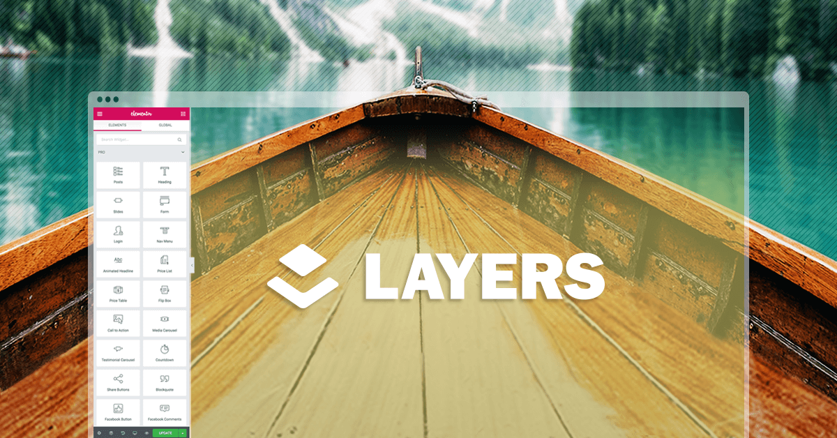 Elementor acquires Layers WP, the popular WordPress theme company, and makes the Layers theme available for free.