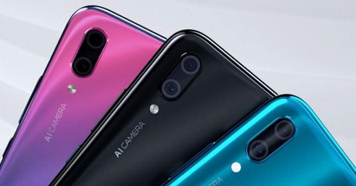 Huawei Y9 (2019) official images