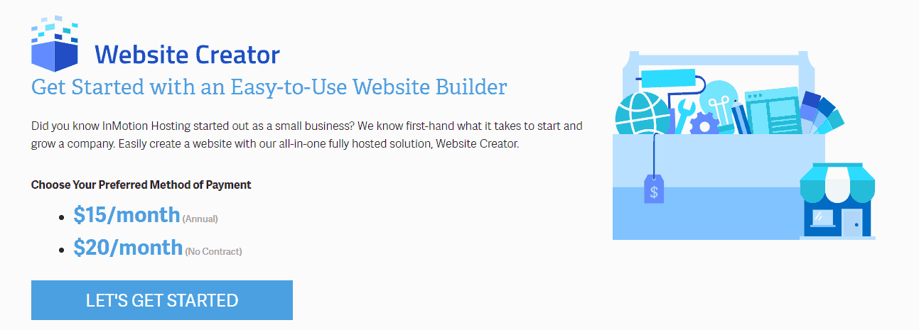 InMotion Hosting launches all-in-one website builder
