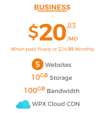 Wpx Hosting Business Plan